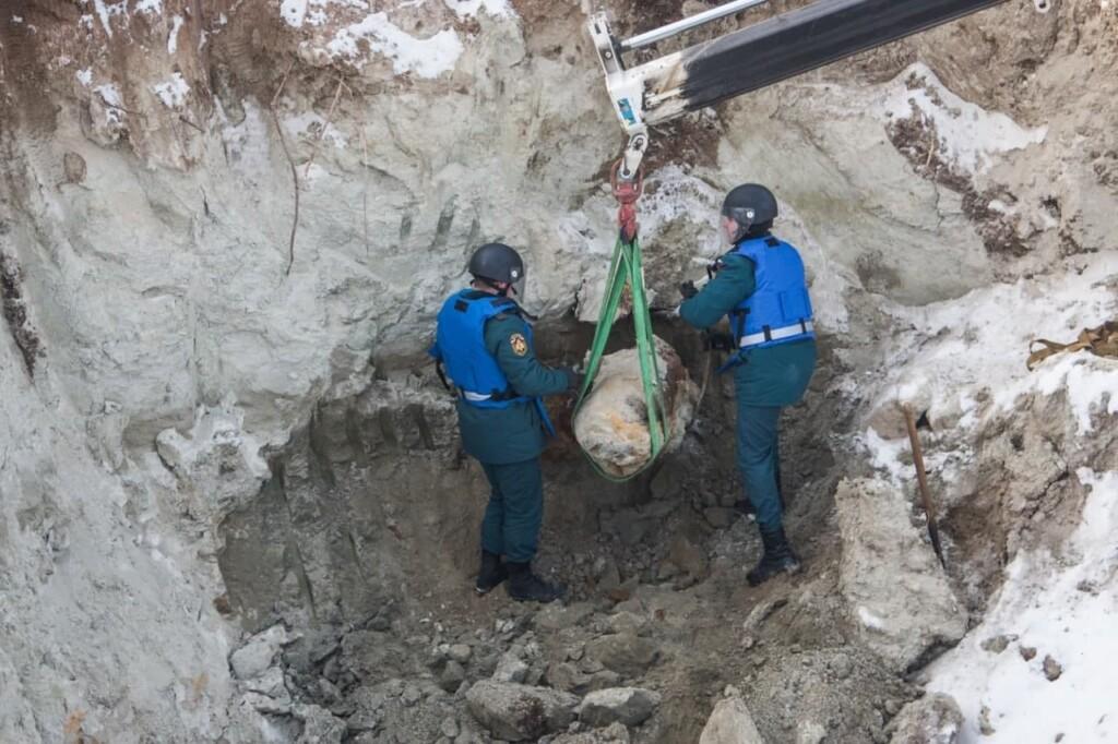 250-килограммовую бомбу нашли в Краснооктябрьском районе