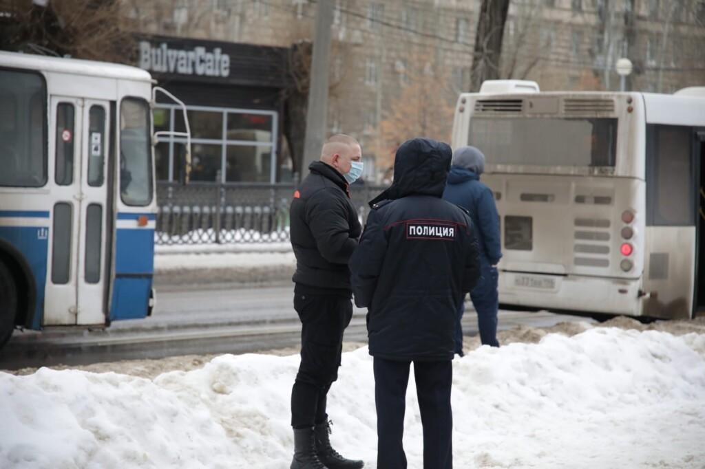 Все провокации в отношении полицейских на митингах 23 января расследуют