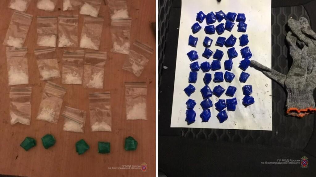 Закладчиков синтетических наркотиков поймали в Волгограде