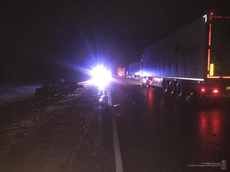 Страшная смерть настигла 39-летнего водителя на трассе «Дон-Тамбов-Волгоград-Астрахань»