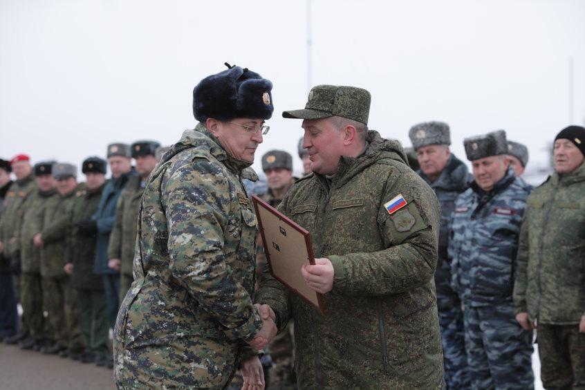 Волгоградские чиновники собрались на полигоне Прудбой