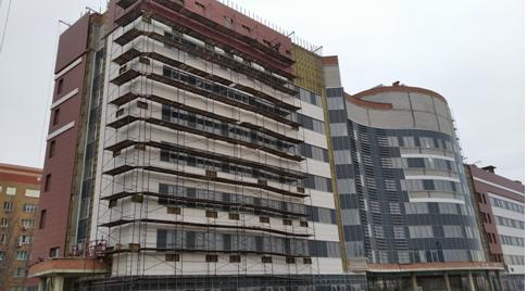 Новый корпус онкодиспансера в Волгограде отстроили на 60%