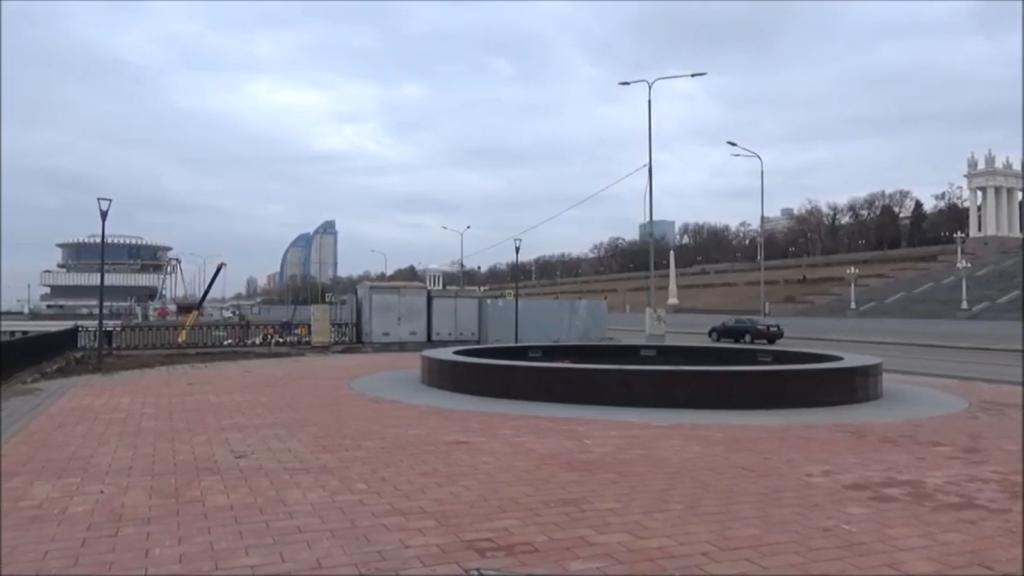 «Амфитеатр и новые фонтаны»: Волгоградцам показали ход работ по реконструкции Центральной Набережной