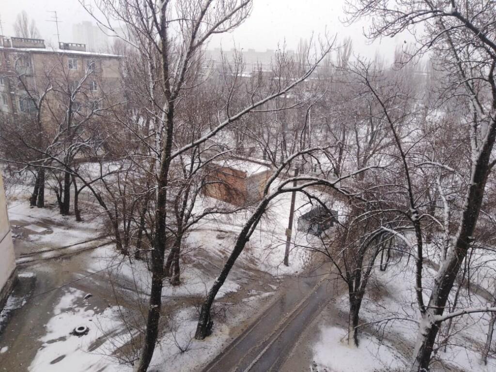 Когда в Волгограде закончатся снег и дождь?