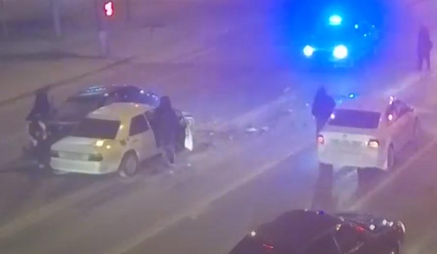 В Волгограде ДТП с водителем, никогда не имевшим прав, попало на видео