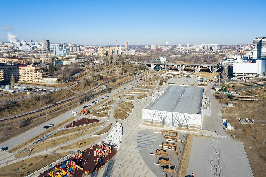 В Волгограде снова заговорили о благоустройстве поймы реки Царица