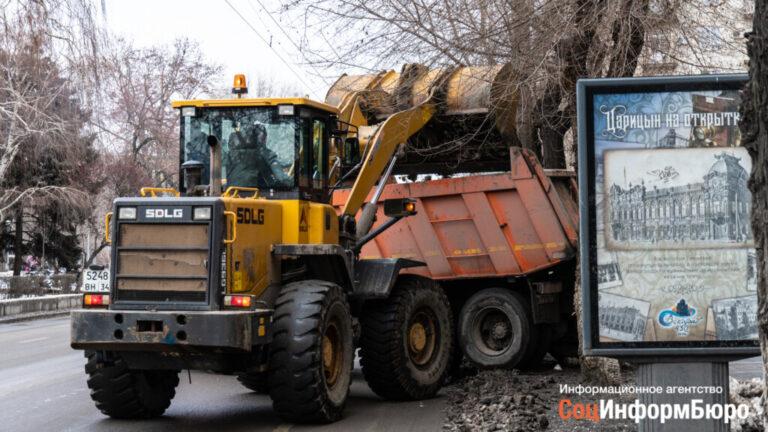 Волгоградские дорожники готовятся к ухудшению погодных условий