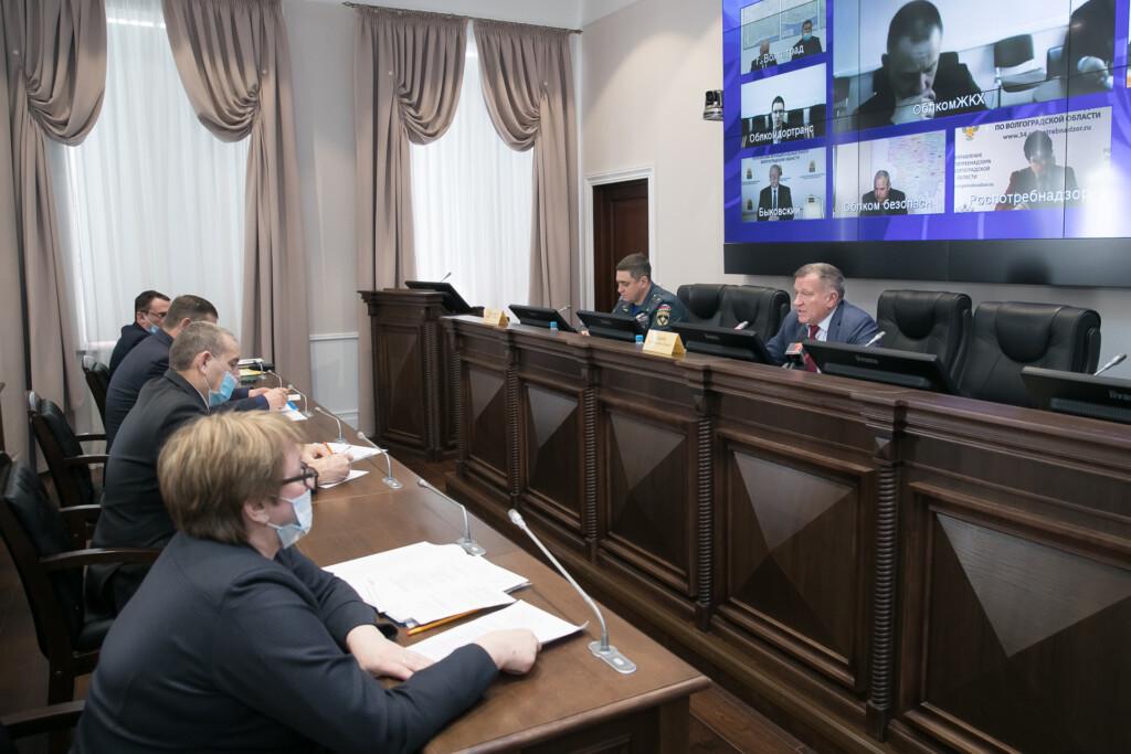Волгоградскую область готовят к сезонным угрозам