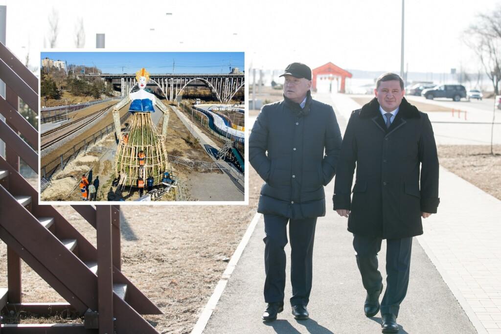 Главный антимасочник региона осмотрел чучело в Волгограде