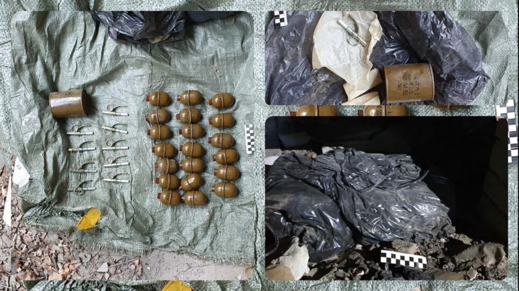 Сотрудники ФСБ нашли тайник с 20 гранатами в Волгоградской области