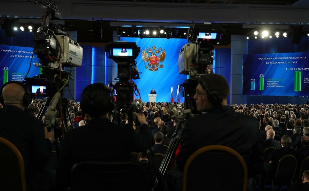 """Владимир Путин вспомнил про пустые полки: """"Правительство не будет директивно вмешиваться в регулирование цен"""""""