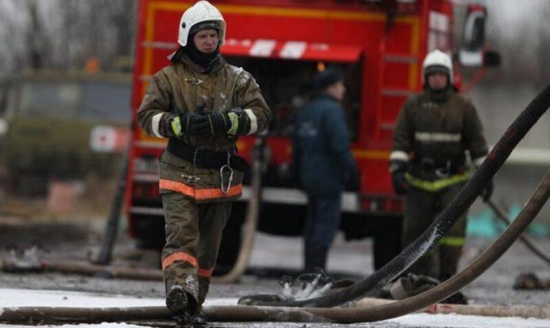В Волгограде выжигают камыш