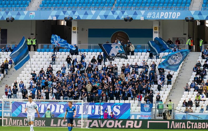 После матча с московским «Торпедо» «Ротор» оштрафовали за череду нарушений и матерные кричалки