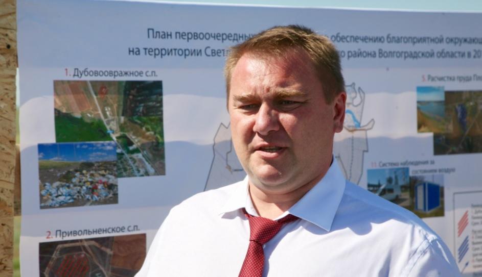 Экс-главу Облкомприроды Виталия Сазонова арестовали в Волгограде