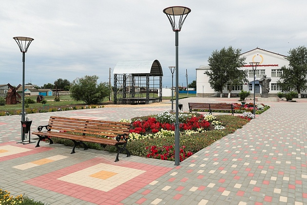 В 11 городах Волгоградской области началось благоустройство