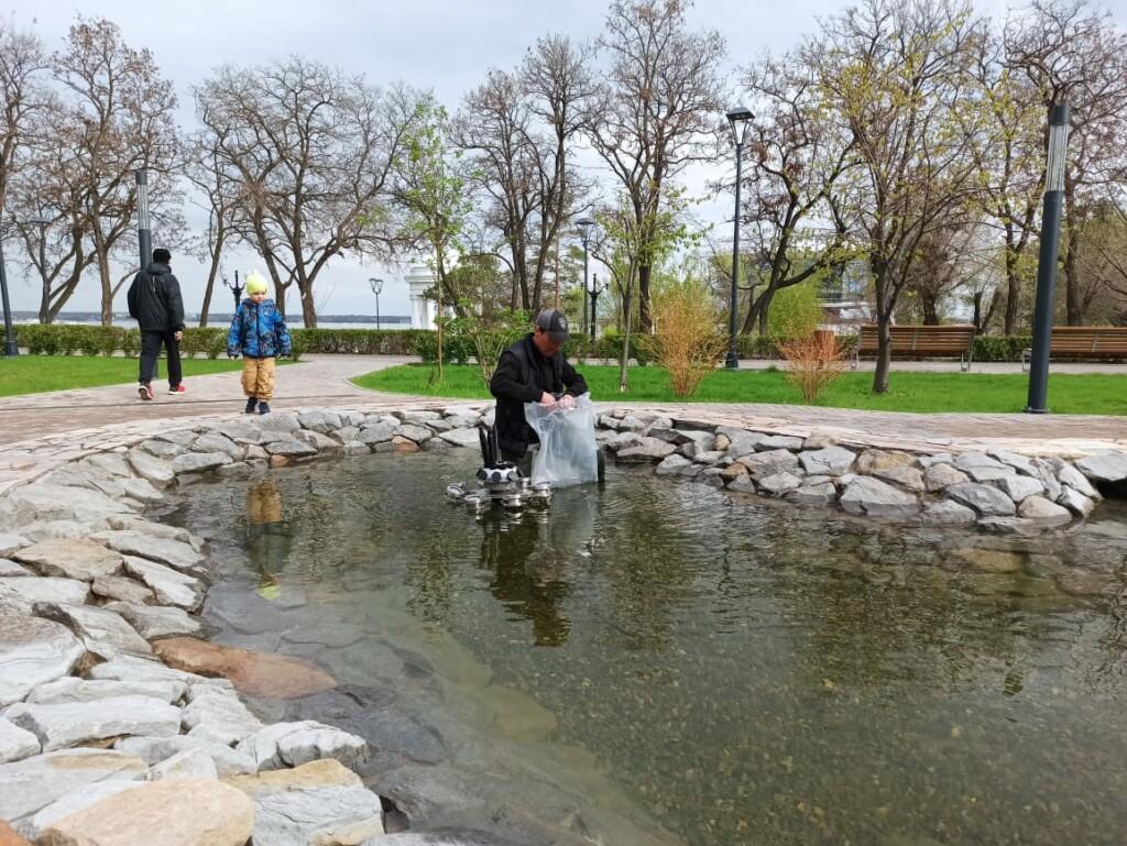 В майские праздники в Волгограде заработают фонтаны
