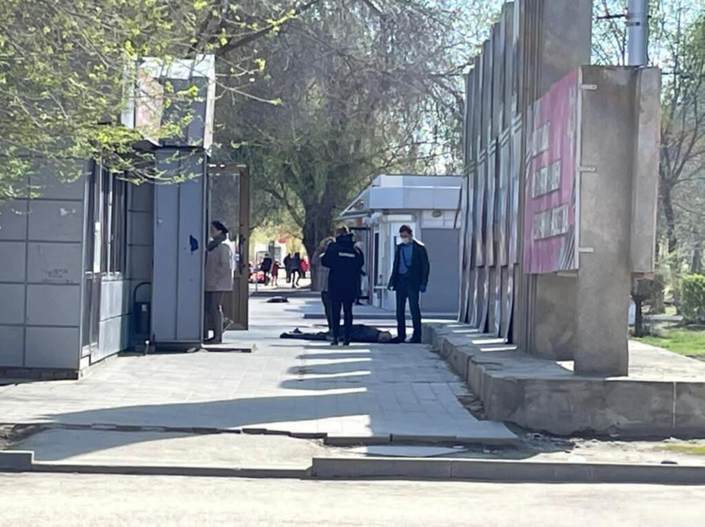 Упал и умер: в Волгограде на улице Тулака осматривают труп мужчины
