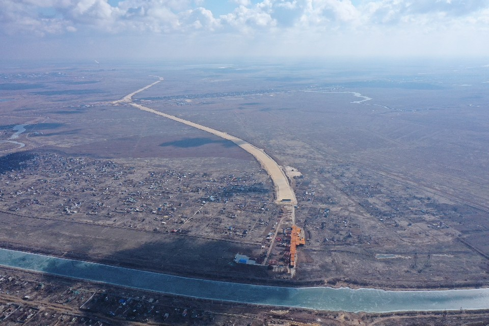 Первый этап строительства обхода Волгограда завершат к 2024 году