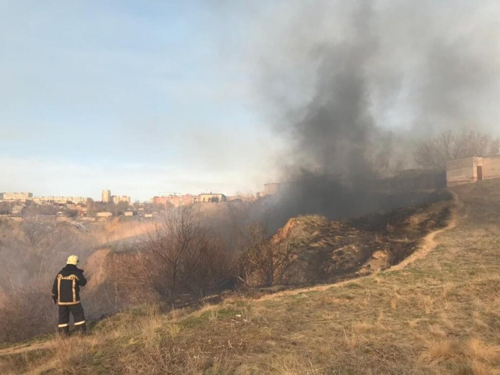 В Волгоградской области участились пожары