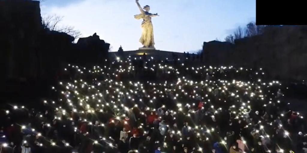 Акцию в поддержку Путина в волгоградском МВД назвали молодежным флешмобом, не требующим согласования