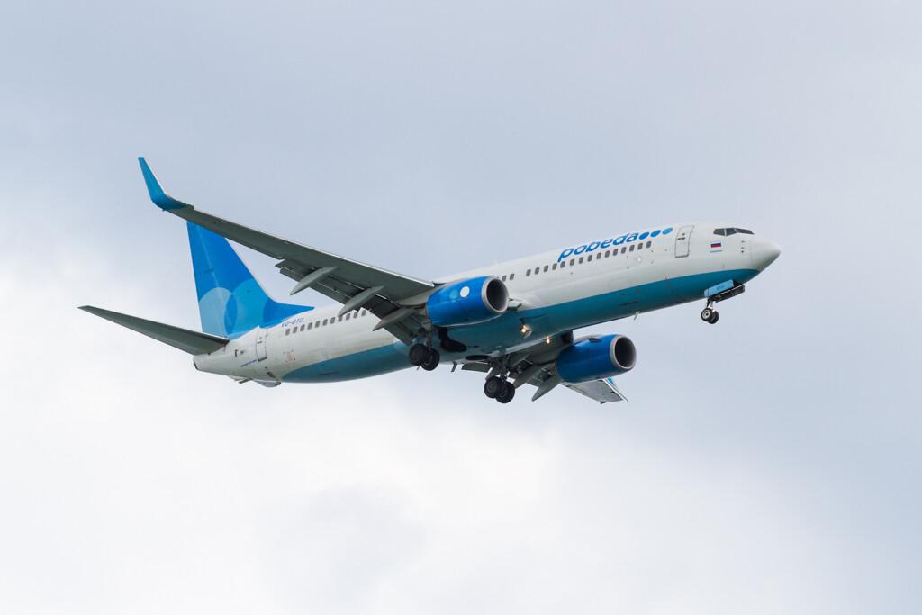 Самолету из Внуково пришлось совершить несколько кругов при посадке над Волгоградом