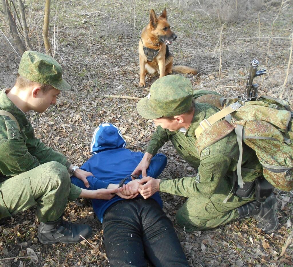 Погрануправление ФСБ задержало нарушителя государственной границы под Волгоградом