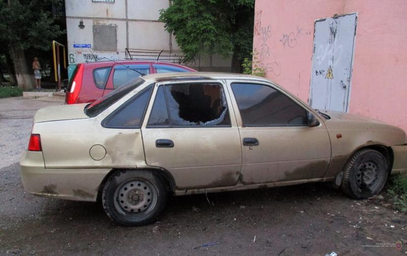 В Волгограде нашли поджигателя «Дэу Нексии»