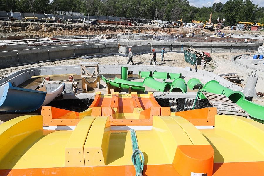 В конце июля в Волгограде откроется аквапарк