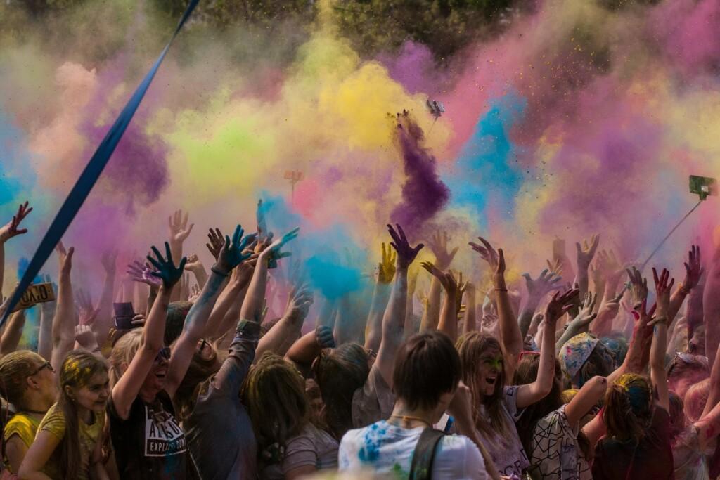 В выходные в Волжском будет фестиваль красок