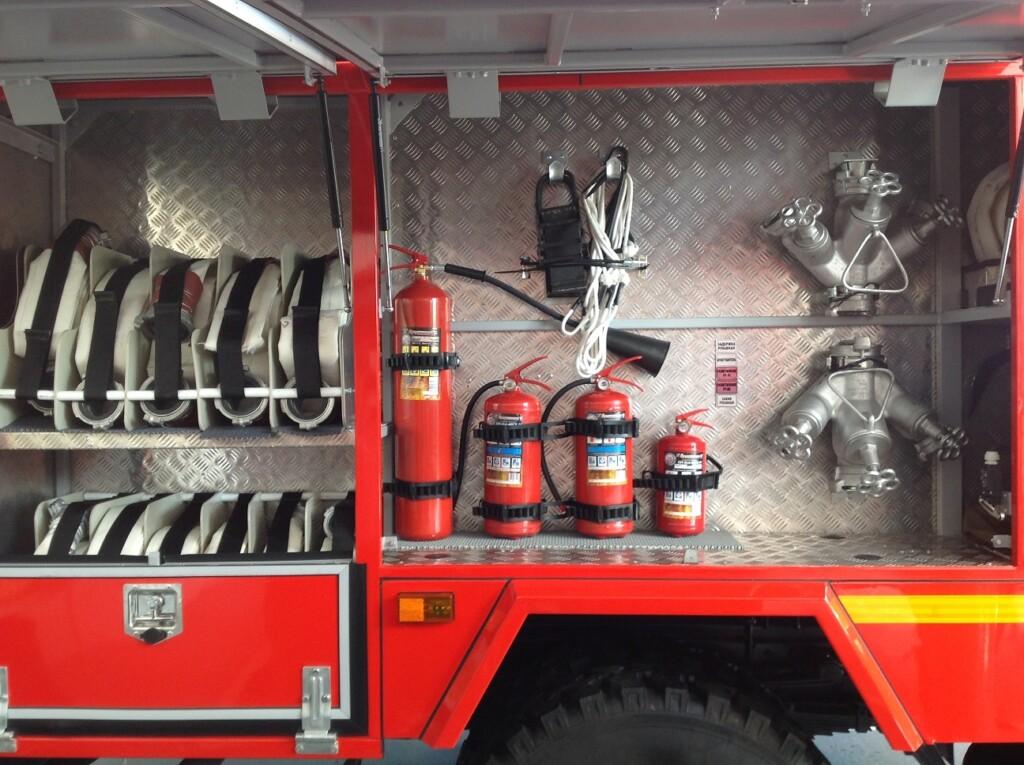 В Ольховском районе Волгоградской области открылся новый пост противопожарной службы