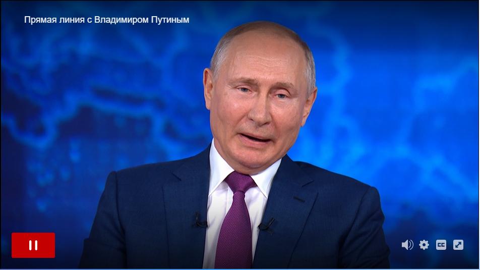 Путин признался, что пьет, когда отдыхает и поет, когда выпьет