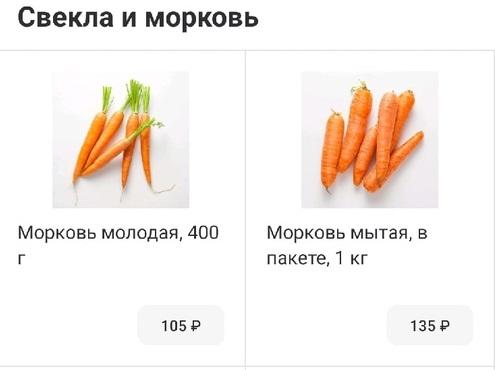 Волгоградстат верит в морковь по 54 рубля и в картофель по 44