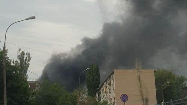 Огонь охватил 100 квадратных метров: стала известна причина пожара в Волжском