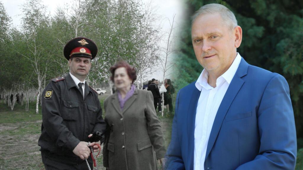Ветераны МВД требуют от мэра Воронина исполнить свои обещания