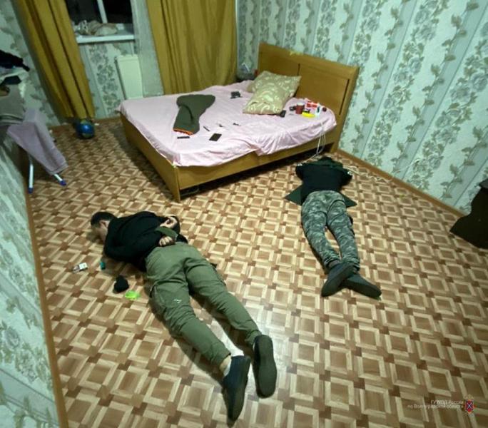В Волгограде с поличным задержали закладчиков