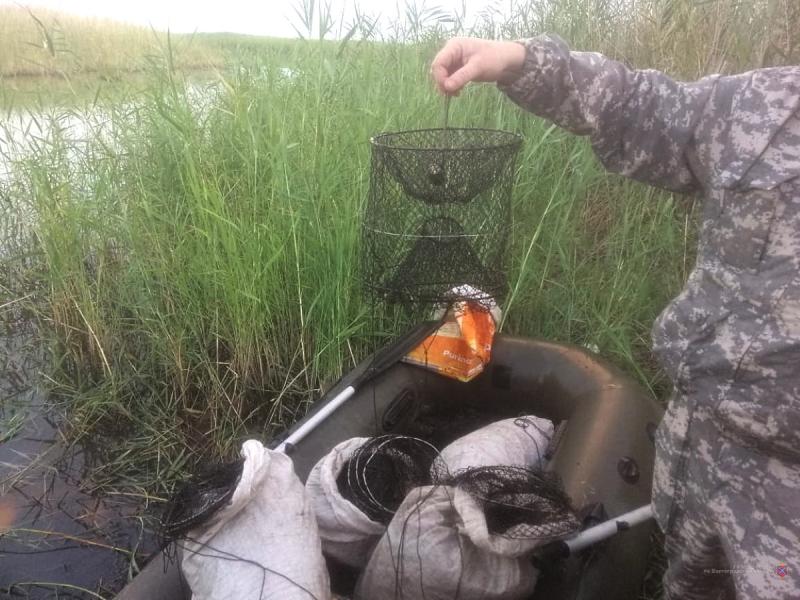 Под Волгоградом браконьеров поймали на ловле раков