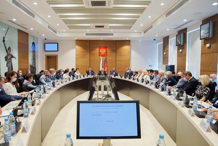 Волгоградская облдума приняла постановление об ужесточении антиковидных мер