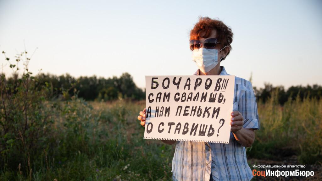 74-летняя инвалид из Волгограда получила штраф в 150 тысяч за протест против вырубки дубов в Волго-Ахтубинской пойме