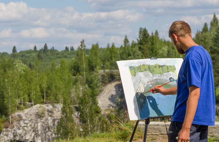 10 июля волгоградцев приглашают заняться живописью в Комсомольском саду
