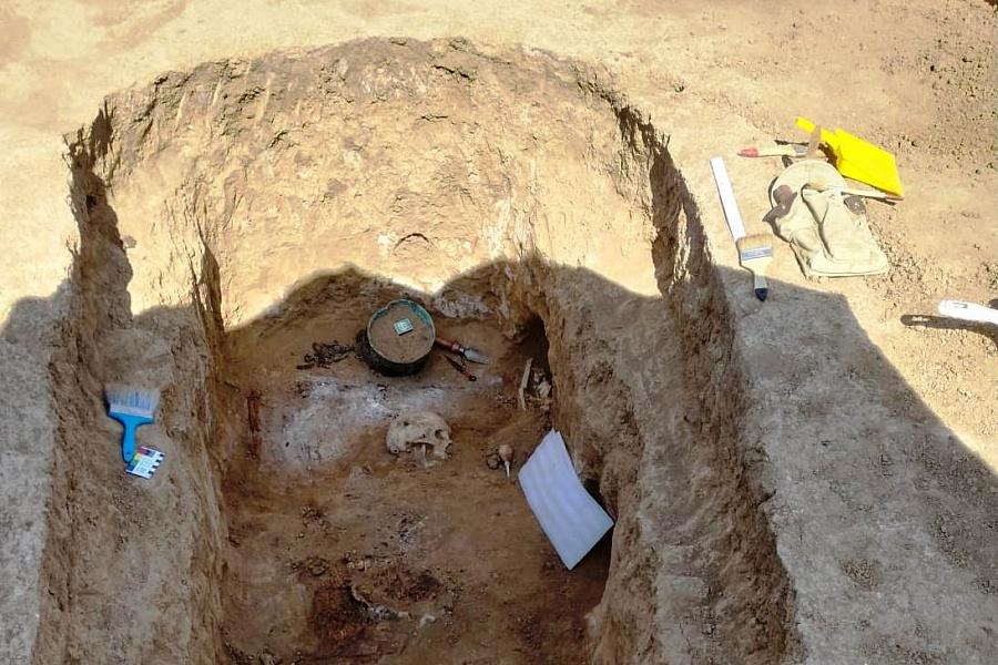 Под Волгоградом нашли захоронения древних людей