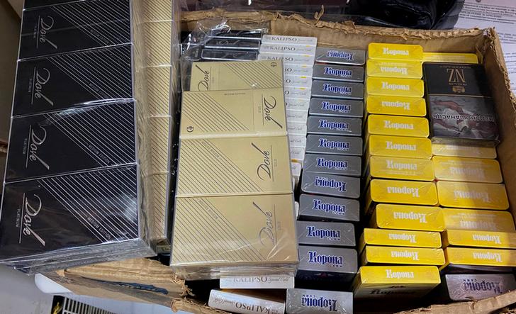 В волгоградском магазине «Чай. Кофе. Табак» продавали поддельные сигареты