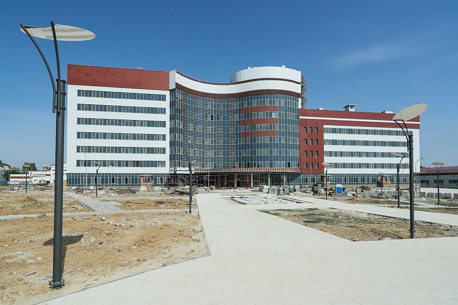 В Волгограде строится новый онкологический комплекс