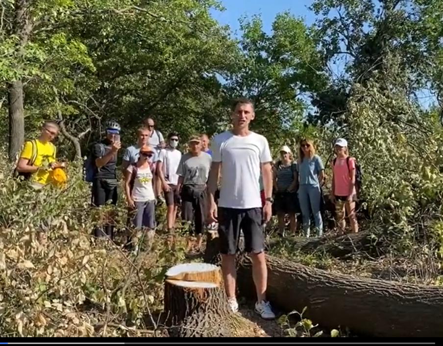 Защитники дубов в Волго-Ахтубинской пойме записали видеообращение к Президенту