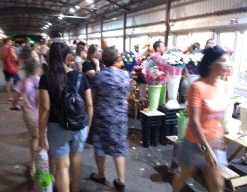 Волжане и волгоградцы массово скупают цветы к 1 сентября