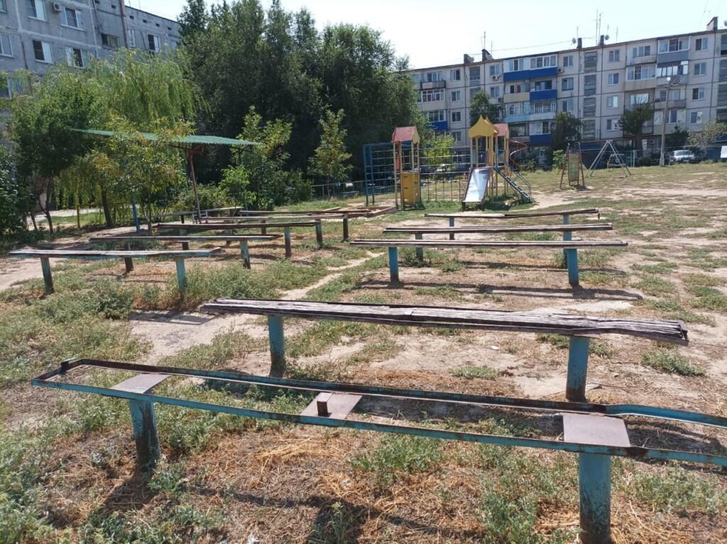 Волгоградцы пожаловались Путину на детские площадки