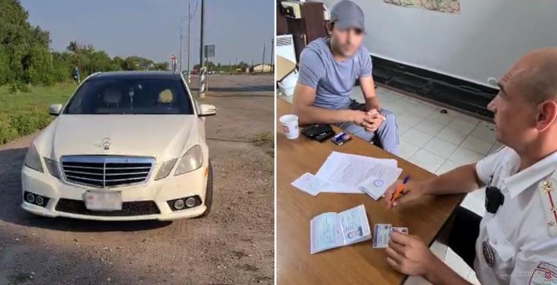 Под Волгоградом гражданина Армении из Москвы задержали с поддельными паспортом и правами