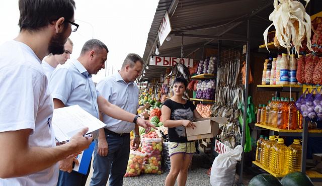 Депутаты облДумы промониторили цены на овощи