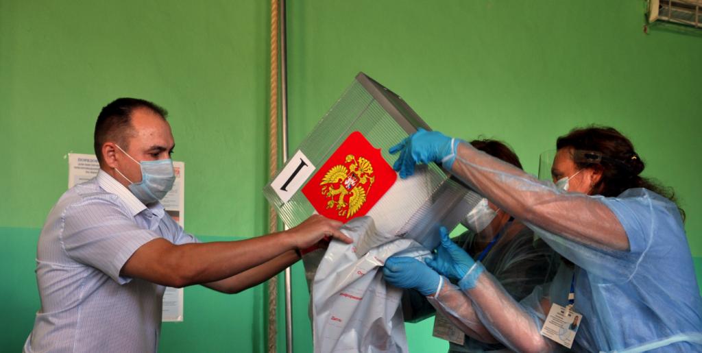 В Облизбиркоме Волгоградской области показали, как будут сохранять целостность бюллетеней