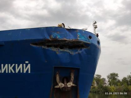 Ущерб от столкновения теплоходов «Альфа Гермес» и «Ростов Великий» под Волгоградом оценили в 4,5 миллионов