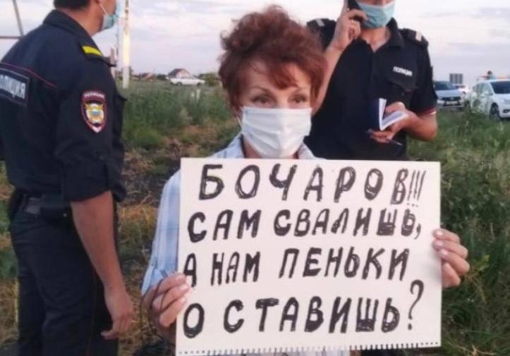 В Волгограде проходит суд над защитницей поймы Галиной Тихенко